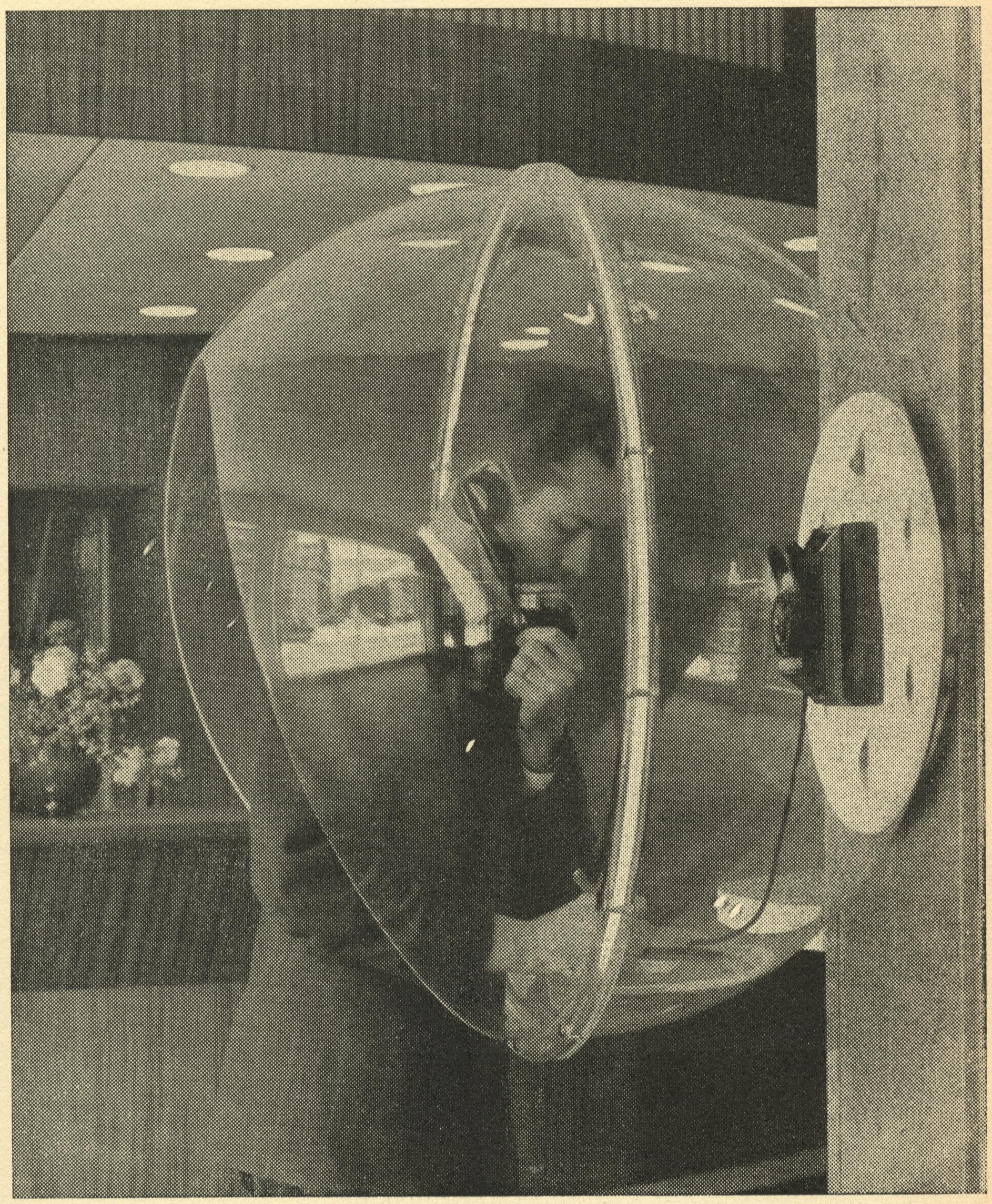 Samtalsskydd, gemenligen kallad Sputnik.