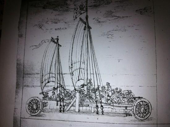 Polhems & Buschenfeldts segelbil
