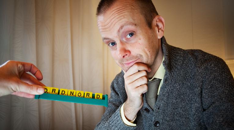 """Ordet """"ordnörd"""" finns inte med i svenska akademins ordlista. Foto: Anna Gerdén"""