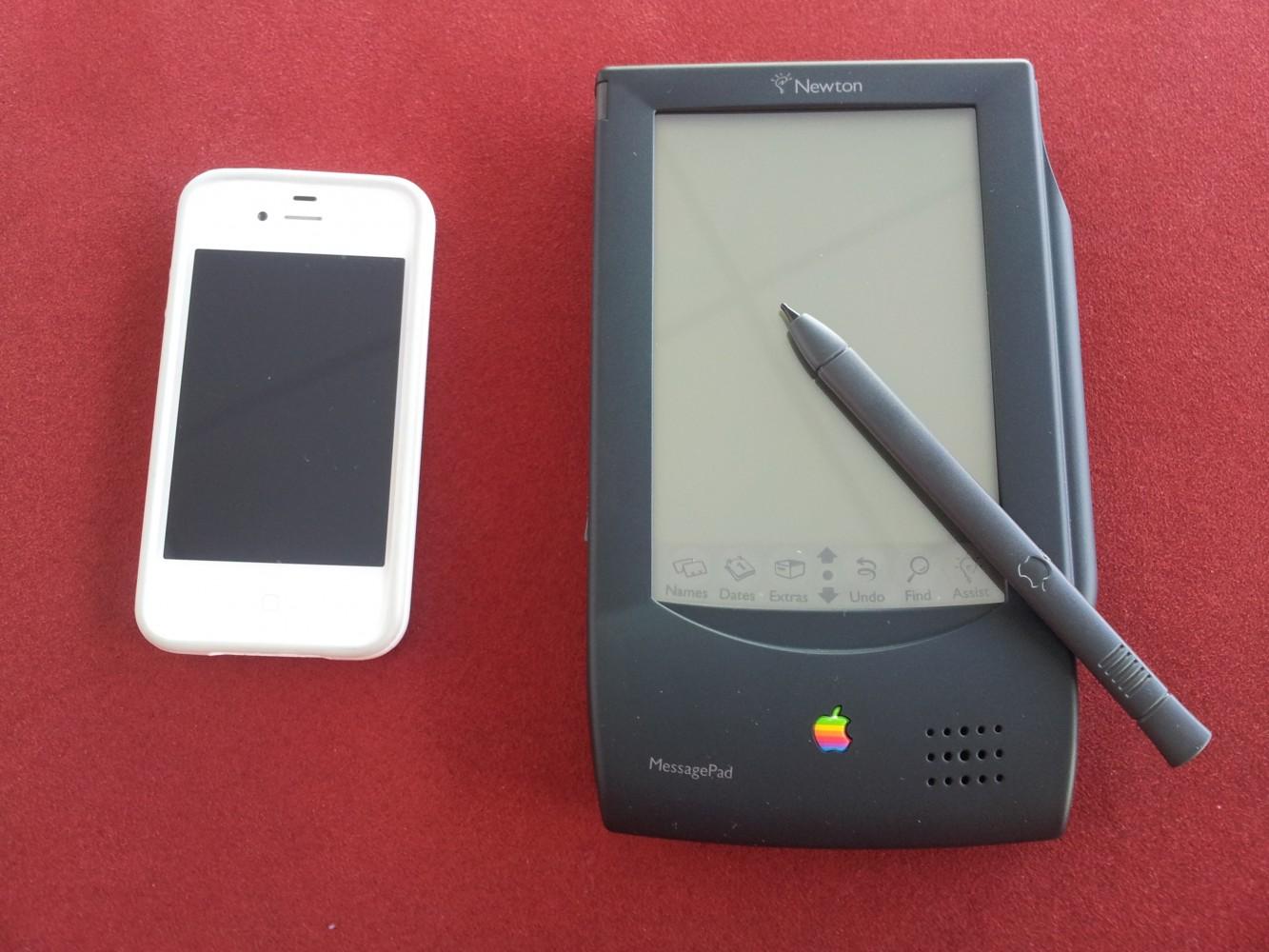 iPhone i jämförelse med MessagePad