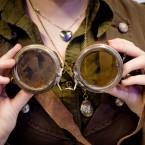 Skyddsglasögon är väldigt steampunk