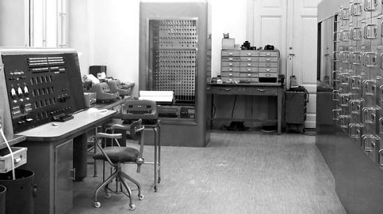 Matematikmaskinen BESK omkring 1953