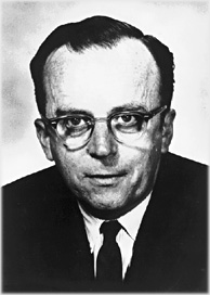J.C.R. Licklider (1915-1990). Foto: Wickimedia Commons.