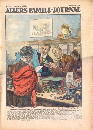 Illustration ur Allers familjejournal 1925