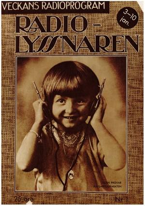 Tidskriften Radiolyssnaren 1/1932