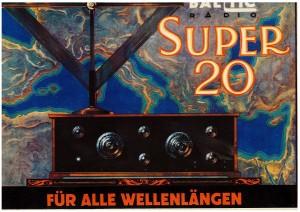 Radiomottagare med antenn