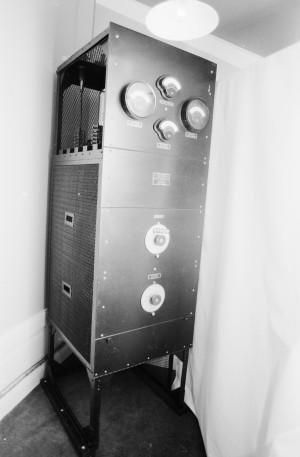 Radiosändare från Western Electric