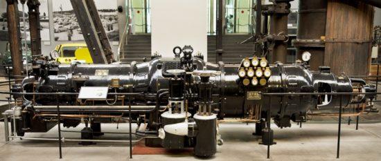 Ångturbin för elproduktion